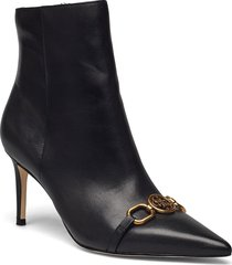 adayn shoes boots ankle boots ankle boot - heel svart guess
