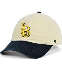 '47 brand long beach state 49ers vault 2 tone clean up cap