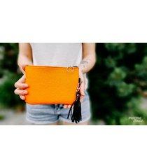 marmollada - kopertówka filcowa mała pomarańcza
