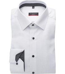 eterna hemd modern fit structuur grijs