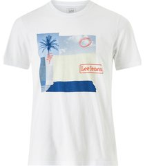 t-shirt botanical print tee