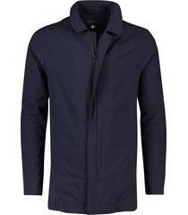portofino halflange jas donkerblauw
