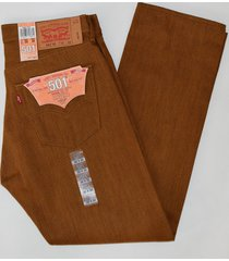 levi's 501 men's straight button fly jeans shrink to fit cotton 501-1679