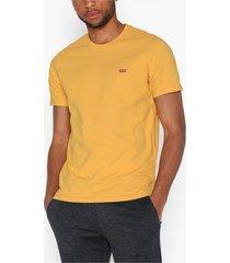 levis the original tee hm patch og t t-shirts & linnen yellow