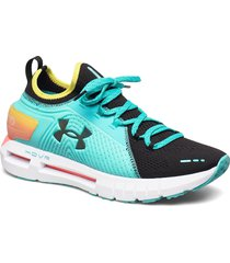 ua hovr phantom se rnr shoes sport shoes running shoes blå under armour