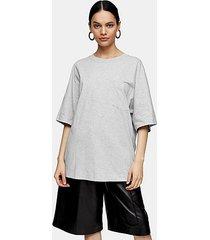 *gray marl t-shirt by topshop boutique - grey marl