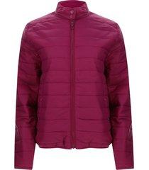 chaqueta mujer acolchada color rojo, talla l