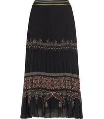 fal murray lång kjol svart desigual