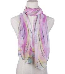 nature silk soft cosmetology traspirante uv protezione sciarpa e scialle a colori graduati