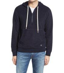 men's outerknown hightide men's half-zip hoodie, size x-large - none