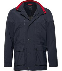 amr field jacket dun jack blauw hackett london
