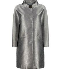 herno sequin lurex coat