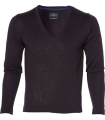 sale - nils pullover - slim fit - paars