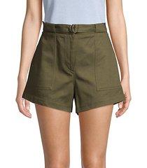 lora high-waisted shorts
