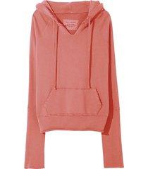 janie hoodie in earth rose