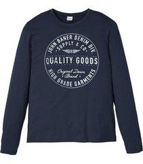 maglia a maniche lunghe (blu) - john baner jeanswear