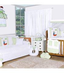 quarto completo padroeira baby barquinho verde