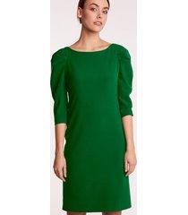 zielona sukienka wizytowa