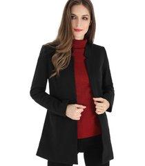 blazer largo negro nicopoly