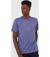 camiseta wg life azul - azul - masculino - dafiti