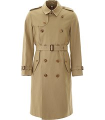 burberry long kensington trench coat