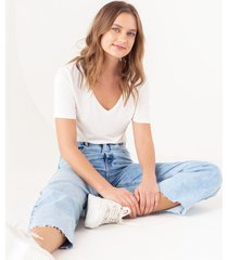 jean straight cropped pailine