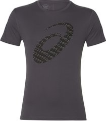 asics silver graphic ss top #3 2011a328-020