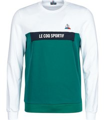 sweater le coq sportif saison 2 crew sweat n°1 m n.opt/white/s.