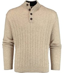 baileys pullover shirt style zip/butto 208461/418