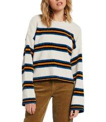 volcom juniors' bubble tea striped sweater
