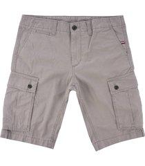 tommy hilfiger john cargo shorts - steeple grey mwowm09642