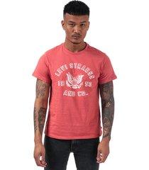 mens graphic icon eagle t-shirt
