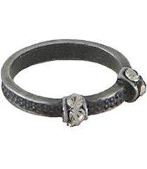 anel armazem rr bijoux falange cristais feminino