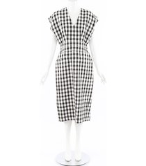 derek lam 2019 gingham cotton dress