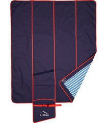 l.l.bean sunbuster outdoor blanket, size one size - blue