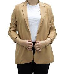 blazer beige design plus