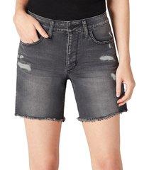 joe's jeans women's distressed denim shorts - ocean side - size 28 (4-6)
