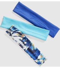 lane bryant women's headbands - 3 pack onesz windblown flower