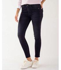 jean skinny con cadenas