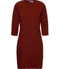 frmevar 1 dress jurk knielengte rood fransa