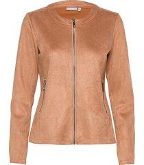 frmasuede 1 jacket blazers casual blazers orange fransa