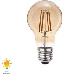 lâmpada led filamento a60 e27 4w bivolt branco quente 2200k - 0325000 - blumenau - blumenau