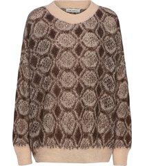 knit stickad tröja brun sofie schnoor