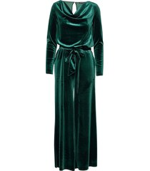 jumpsuit maxi dress galajurk groen ilse jacobsen