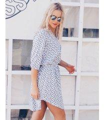 sukienka spring biała
