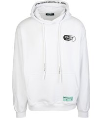 pharmacy industry white man hoodie with maxi logo