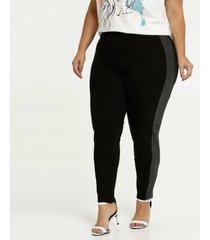 calça legging recorte plus size marisa feminina