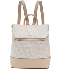 dkny bryant signature top zip backpack