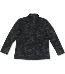 style & co cotton camo-print utility jacket, created for macy's