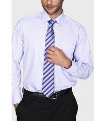 camisa formal lisa lila arrow